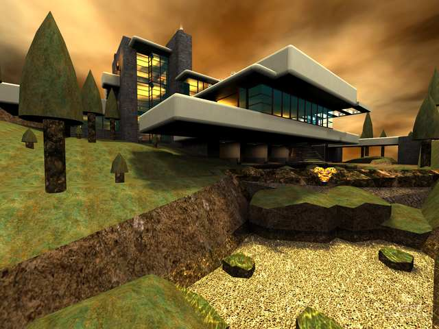 Screenshot for Frank Lloyd Wright's - Falling Water by 187-J4CK4L