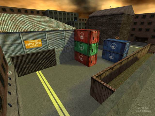 Screenshot for cs_assault for Quake 3 by OXOTHuK