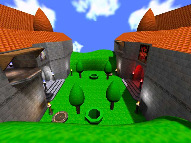 Screenshot for Mario Opposing Castles by Pen-Pen