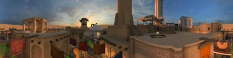 Panorama for Shibam