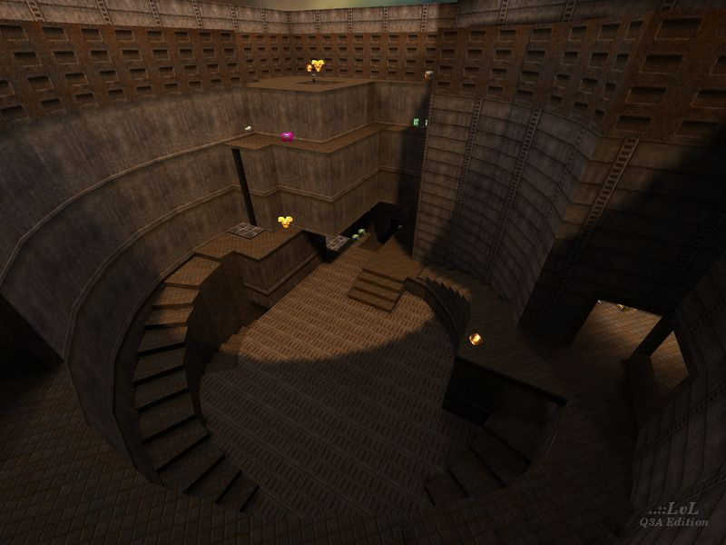 Review of The Edge (2) by V1979 (vq2dm1) -   ::LvL - Quake 3